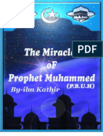 The Miracles of Prophet Muhammed P B U H -English