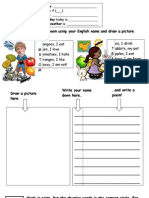 Poetry - Worksheet