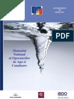 Manualul National Al Operatorilor de Apa Si Canalizare WUM-Final-Rom