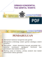 Malformasi Kongenital Traktus Genital Wanita