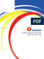 ASEAN in The Global Community Annual Report 2010-2011