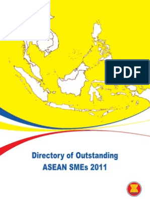 Directory of Outstanding ASEAN SMEs 2011 | Association Of