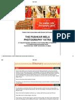 The Pushkar Mela - Photography Yatra