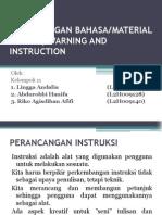 Material Verbal, Warning and Instruction