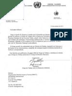 Wenceslao Mansogo Naciones Unidas