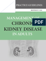 CPG - Management of Chronic Kidney Disease in Adults