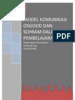 Model Komunikasi Osgood Dan Schramm Dalam Pembelajaran