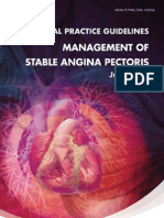 CPG - Management Stable Angina Pectoris July 2010
