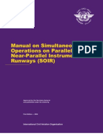 Doc 9643 Ed.1 (2004) - Manual on Simultaneous Operations on Parallel or Near-Parallel Instrument Runways (SOIR)