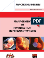 Management of HIV in Pregnant Women