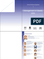 Management of Obesity