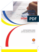 ASEAN Economic Community Scorecard 2012