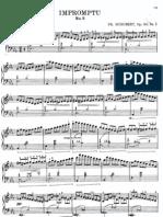 Schubert - Impromptu Op 90 n 2