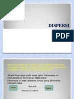 Presentasi Opto Ke 4 Dispersi