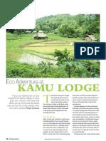 Eco Adventure at Kamu Lodge- Asian Journeys November 2012
