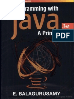 Programming With Java a Primer,3E