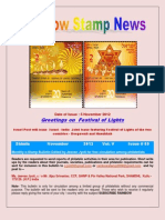Rainbow Stamp News Novemberr 2012