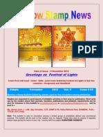 Rainbow Stamp News Novemberr 2012