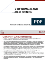 2012 October 11 Survey of Somaliland, June 16-24, 2012