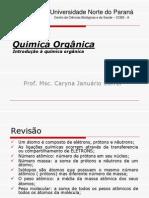 aula 1 - Introduççao quimica organica