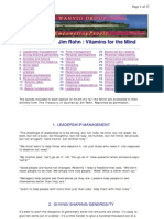 Jim Rohn Vitamins for the Mind