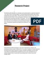 Data Presentation Final Report