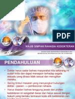 Wajib Simpan Rahasia Kedokteran