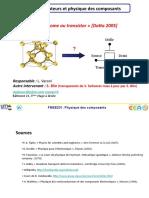 FMEE231 Physique Des Composants v3