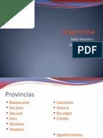 ARGENTINA, JANA Y SOFIA 4ºC