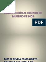 1. INTRODUCCIÓN AL TRATADO DE DIOS UNO Y TRINO