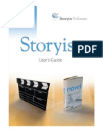 dbf737509a Storyist 2.0 User's Guide