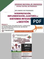 Interpretación, Documentación y Legislación de los Requisitos Legales del Sistema de Gestión Integrado - Cajamarca - Noviembre 2012