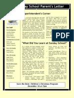 Newsletter for Nov 2012