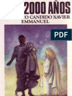 Hace 2000 años… Francisco cándido xavier