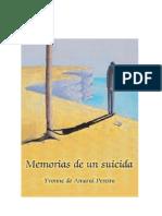 Memoria de Un Suicida