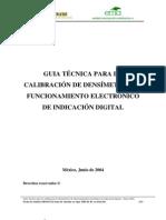 PDF Calibracion Calibracion Densimetros Digitales 24 Ago 04