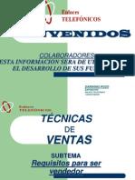 Tecnicas-De-Ventas Agosto Para Imprimir