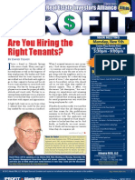 The Profit Newsletter for Atlanta REIA - November 2012