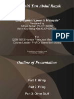 Employment Laws in Malaysia