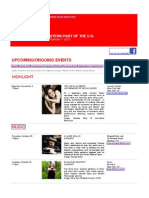 Swiss Events in New York - October 25 - November 7, 2012