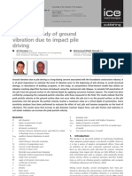 Khoubani_Ahmadi_2012_1 Numerical Study of Ground Vibration Due to Impact Pile Driving
