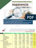 Monitoreo a Presupuestos Sonora Haaz 2012