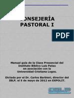 Manual Guia Consejeria Pastoral I
