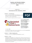 Estatutos de SCD