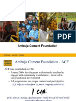 ACF SEDI-Panvel Information