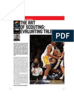 FIBA-The Art of Scouting by Adam Filippi with highlights by iBall United
