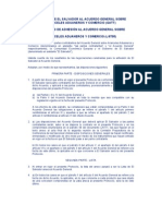 Adhesion Al Acuerdo Relativo articulo VII GATT de El Salvador