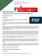 Artigo_ A interpretação dos contratos de adesão à luz do Código Civil – Revista Jus Vigilantibus