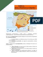 TEMA 6. Dominios Climaticos de España - Notas de Apoyo
