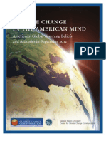 Climate Beliefs September 2012